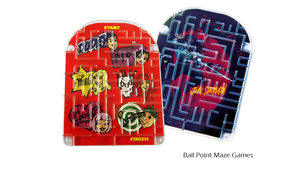 Ball Point Maze Games