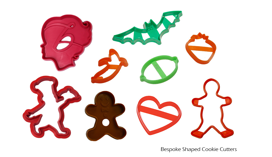 Bespoke Shaped Cookie Cutters