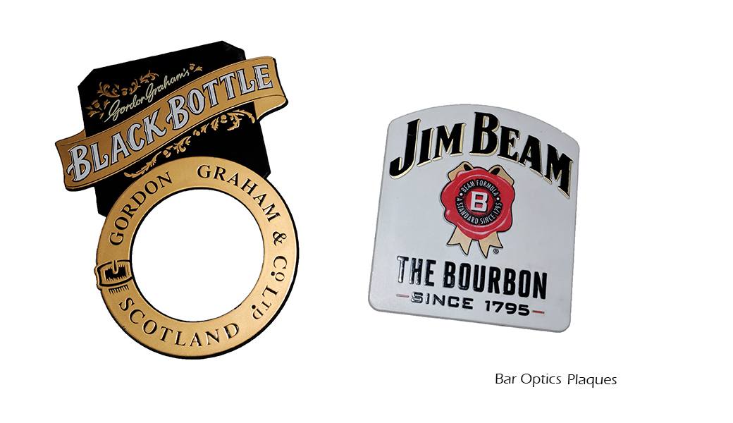 Bar Optics Plaques