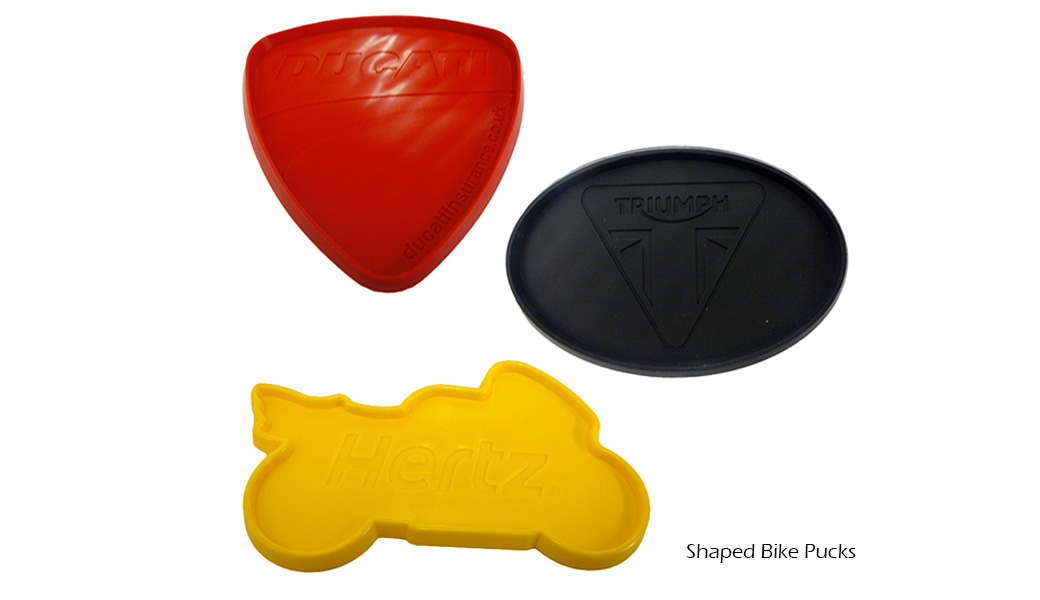 Shaped Bike Pucks