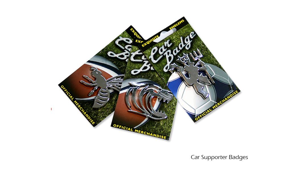 Car Supporter Badges