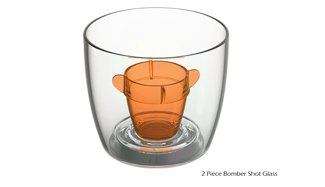 2 Piece Bomber Shot Glass