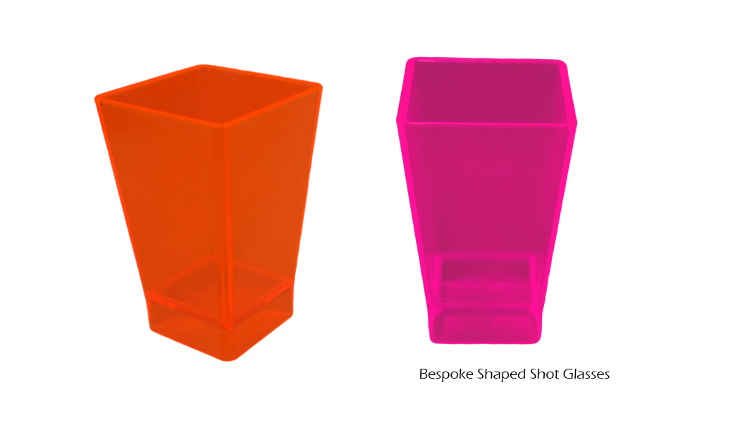 Bespoke Shaped Shot Glasses