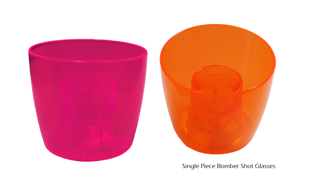 Single Piece Bomber Shot Glasses