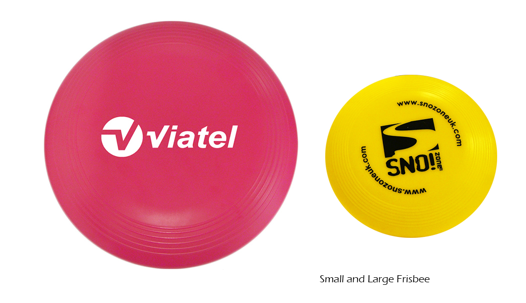 Small And Large Frisbee
