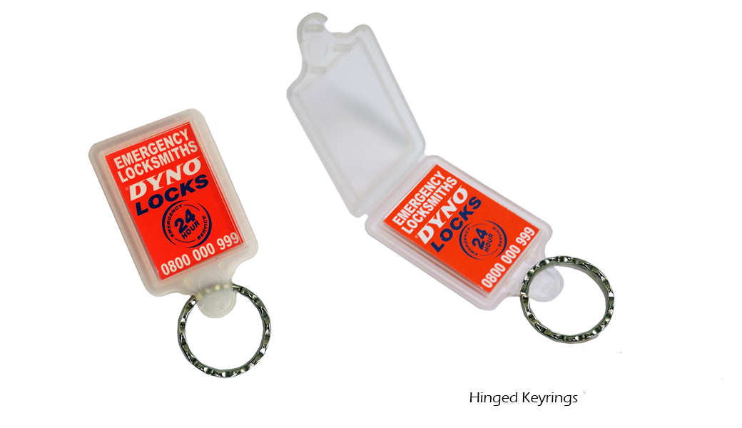 Hinged Keyrings