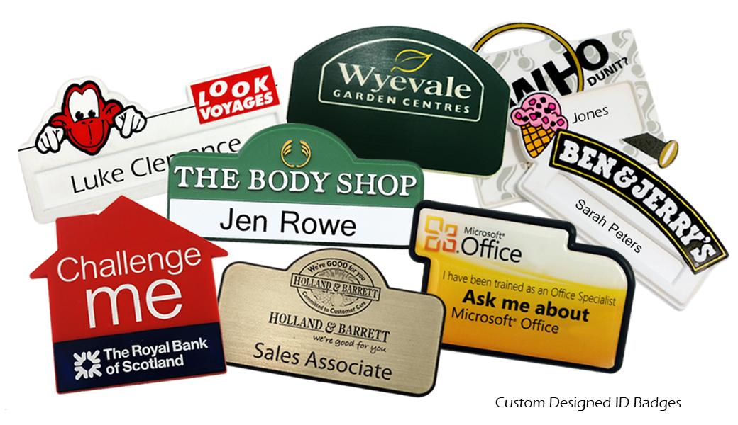 Custom Designed ID Badges